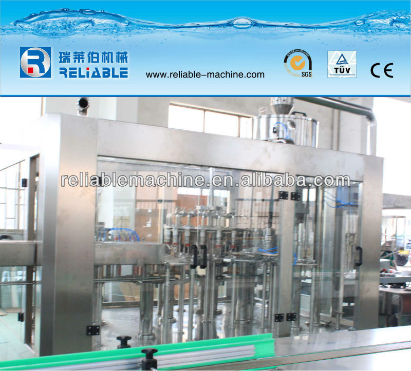 Reliable hot tea drink filling machine/juice making machine