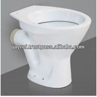 "European Water Closet ""P"" Type / Floor Mount"