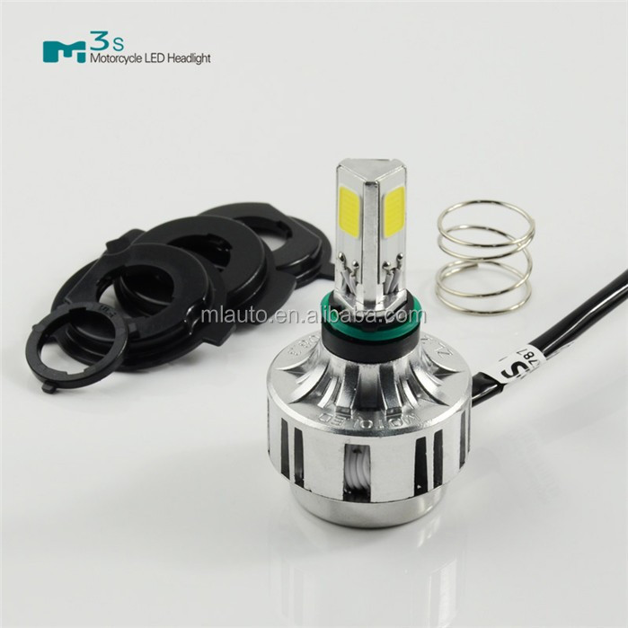 upgrade version Led motorcycle Headlight 32w 3000lm working light for motorcycle