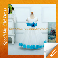 children long frocks designs kids wedding gown baby girl ball gowns for girls 10 year old LYD-317