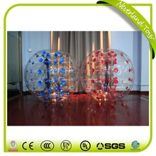 Personalized Life Size Bouncing Bowl Pvc Balls Rubber Bowling Pin Football Soccer Inflatable Bouncy Human Bubble Ball