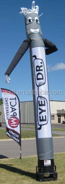 Advertising inflatables cheap eye air dancer hot sale