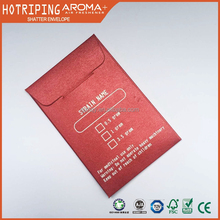 Best price shatter packaging custom designed concentrates envelopes with hot foil