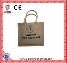jute burlap bags Jute Sacks eco-friendly national trend gift wine bag for Storage Wedding Decor
