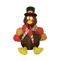 inflatable decoration lighting/6 Foot Thanksgiving Inflatable Turkey