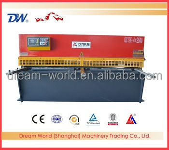 CE&ISO approved plate shears machine , metal roof cutting machine , sheet hydraulic cutting machine for sale