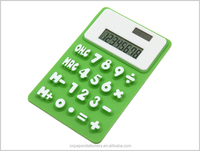 Cartoon popular style solar calculator for kids' gifts