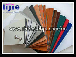 HPL 2mm to 25mm customized melamine board colors