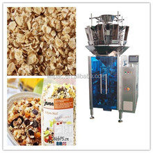 chocolate bean/popcorn pouch packing machine