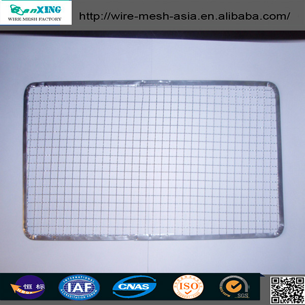 2015stainless steel barbecue bbq grill wire mesh net