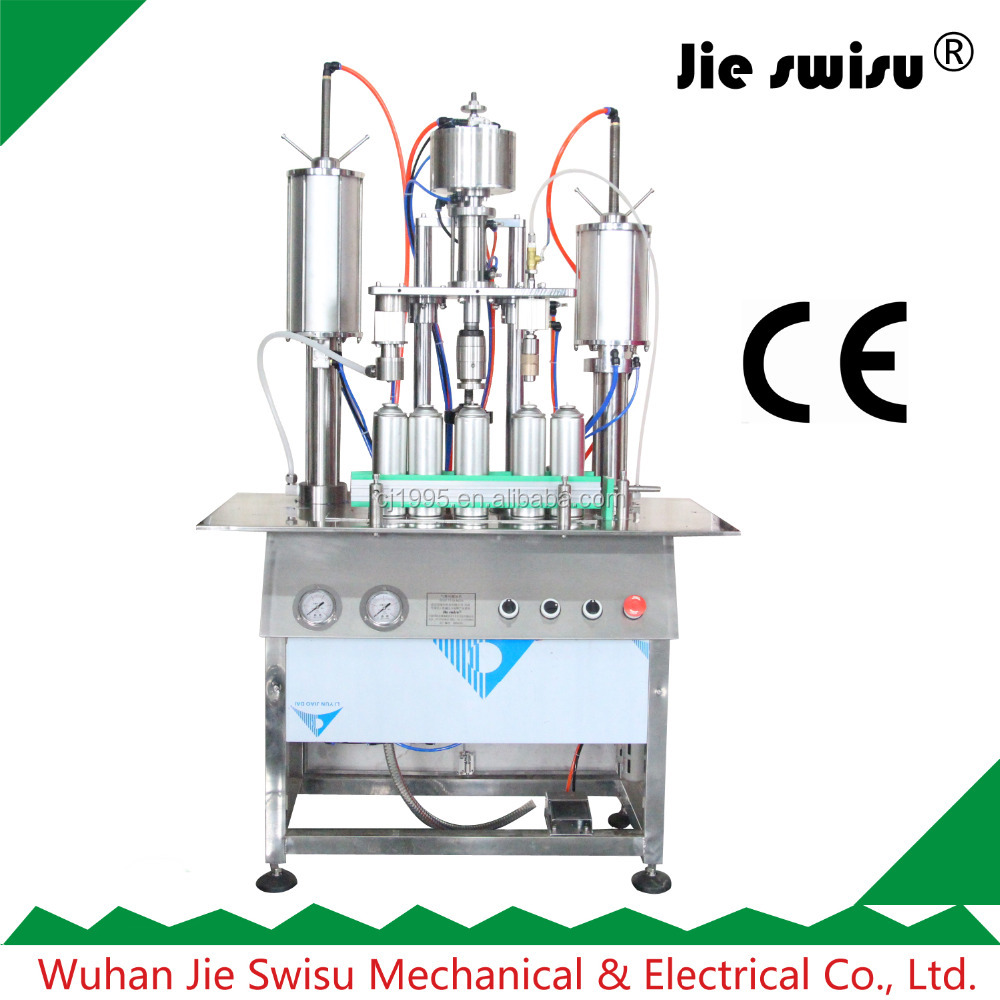 automatic insecticide spray aerosol Filling Machine