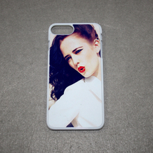 Valentine's gift sublimation blank phone case 2D PC phone cover for iPhone7 plus