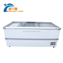 Island freezer/Supermarket commercial refrigerators/Chest display chiller for frozen food