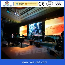 fixed installation message advertising p10 indoor led display screen