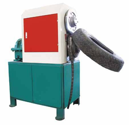 High quality new style used tyre cut machine