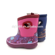 Skidproof Child Girl Neoprene Rubber Rain Boots