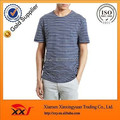 classic navy style striped loose oem custom t shirt
