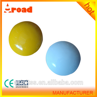 for Highway Crossing 4inch white/yellow ceramic reflector road stud