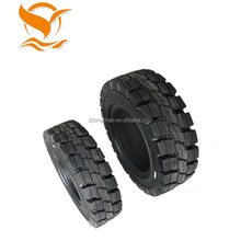 2018 new hot sale solid rubber forklift cart tire 400 x 8 3.75