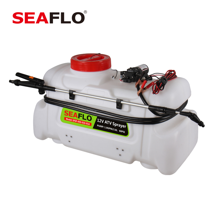 SEAFLO 12V 3.8LPM Pump 80PSI 50L ATV Weed Mist Sprayer