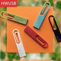 Creative Mini book design Paper Clip Usb flash drive Usb 2.0 pen drive 4GB 8GB 16GB for gift or use