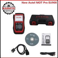 Multi-Functions MOT Pro auto car Diagnostic Scanner autel EU908 Work on Domestic, Asian & European Cars