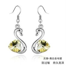 (060893) 2011 high quality platinum earrings