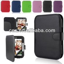 Ultra Compact PU Leather Cover Sleeve Case For NOOK Simple Touch and GlowLight