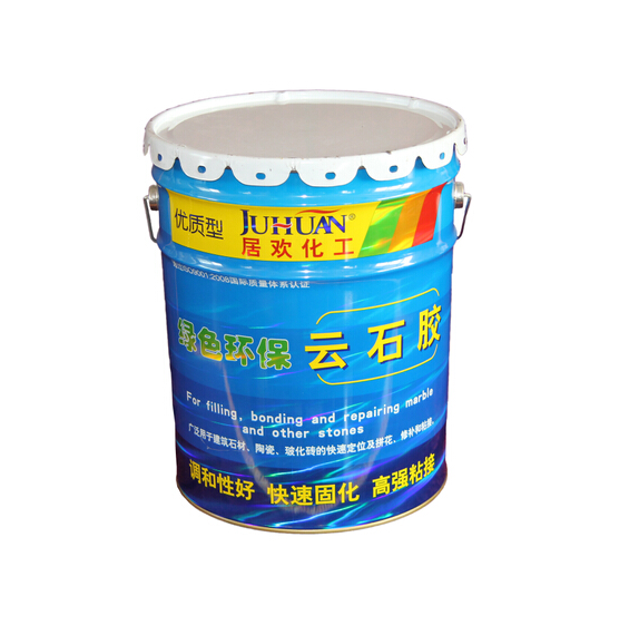 JUHUAN OEM two components construction usage marble glue, beige , white and black marble adhesive