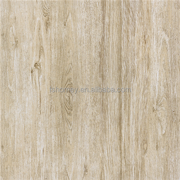 Cheap price rustic glazed porcelain floor tiles look like wood for faux stone for interior panels from foshan nanhai tiles