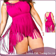 Wholesale 2017 Plus Size XXXL Sexy Fat Women High Waisted Swimsuit