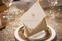 2015 Elegant Laser Cut Wedding Cards, Wedding Invitation Card