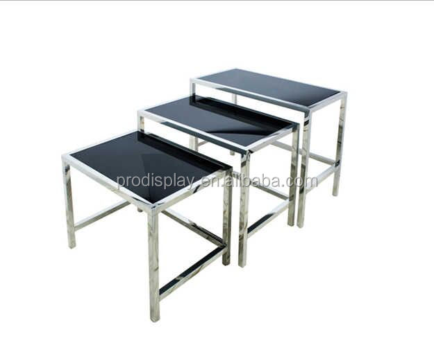 RT-27 Trousers Display Rack Stainless Steel Table Pants Display Rack