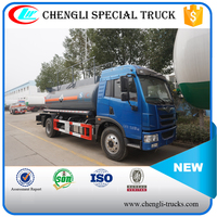 FAW 4*2 120hp 8000 Liters Chemical Liquid Tank Truck for Hydrochloric Acid