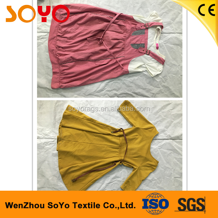 fashionable korea used clothing secondhand clothes in bales for wholesale