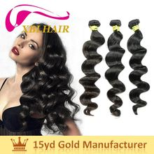 XBL hair doulble layers weft indian hair company