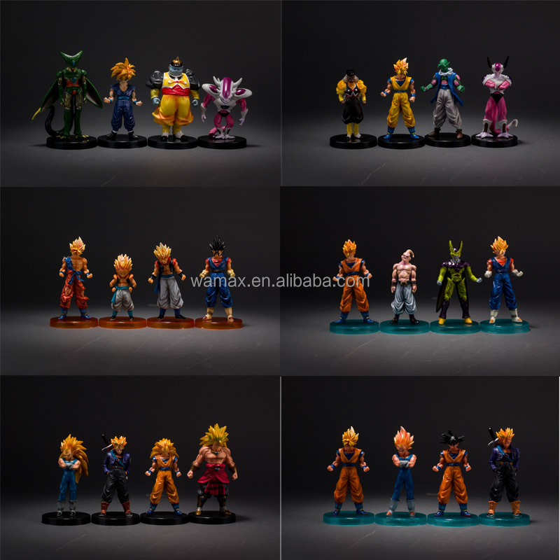 9~15 CM Dragon Ball Z Dragonball 10 Set PVC Action Figure Toy