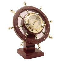 Nautical Ship Wheel Weather Station