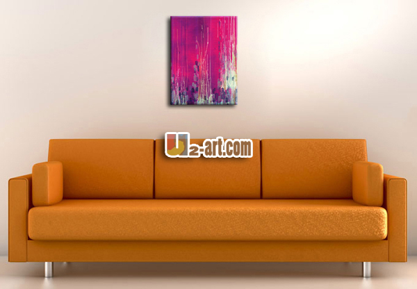 Painting pictures of color originality abstract modern art painting