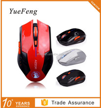 2.4g 6D wireless optical mouse driver with Rechargeable Battery for Gaming