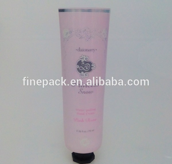 Aluminum Cosmetic Laminate Tube
