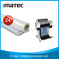 Waterproof Milky Transparency Inkjet Plate Making Film for Positive Screen Printing 100mic