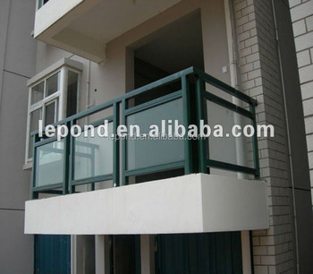 8mm Guardrail stair tempered laminated glass for Balcony