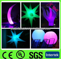 2013 outdoor LED Light inflatable christmas decorations