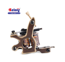 Professional top quality tattoo machine CNC carving frame manual winding coil