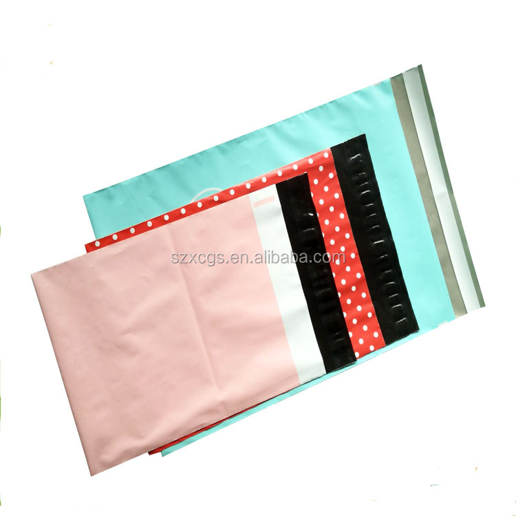 plastic bag clothes shipping mailer envelopes shenzhen factory PE bag manufacturer
