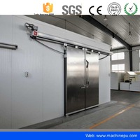 Prefabricated Cold Room Outdoor Pu Insulation Wall Sandwich Panel
