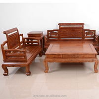 2016 New design African rosewood Antique furniture living room 6 pieces sofa set for sale