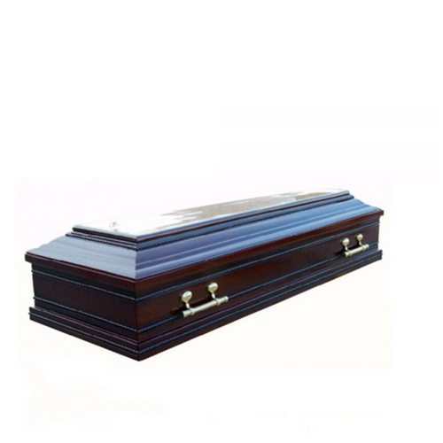 TD--E23 China manufacturer solid paulownia wooden coffin of full couch