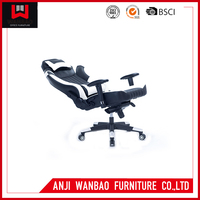 Racing Style Modern Office Pu Leather Adjustable Safety High Gaming Chair